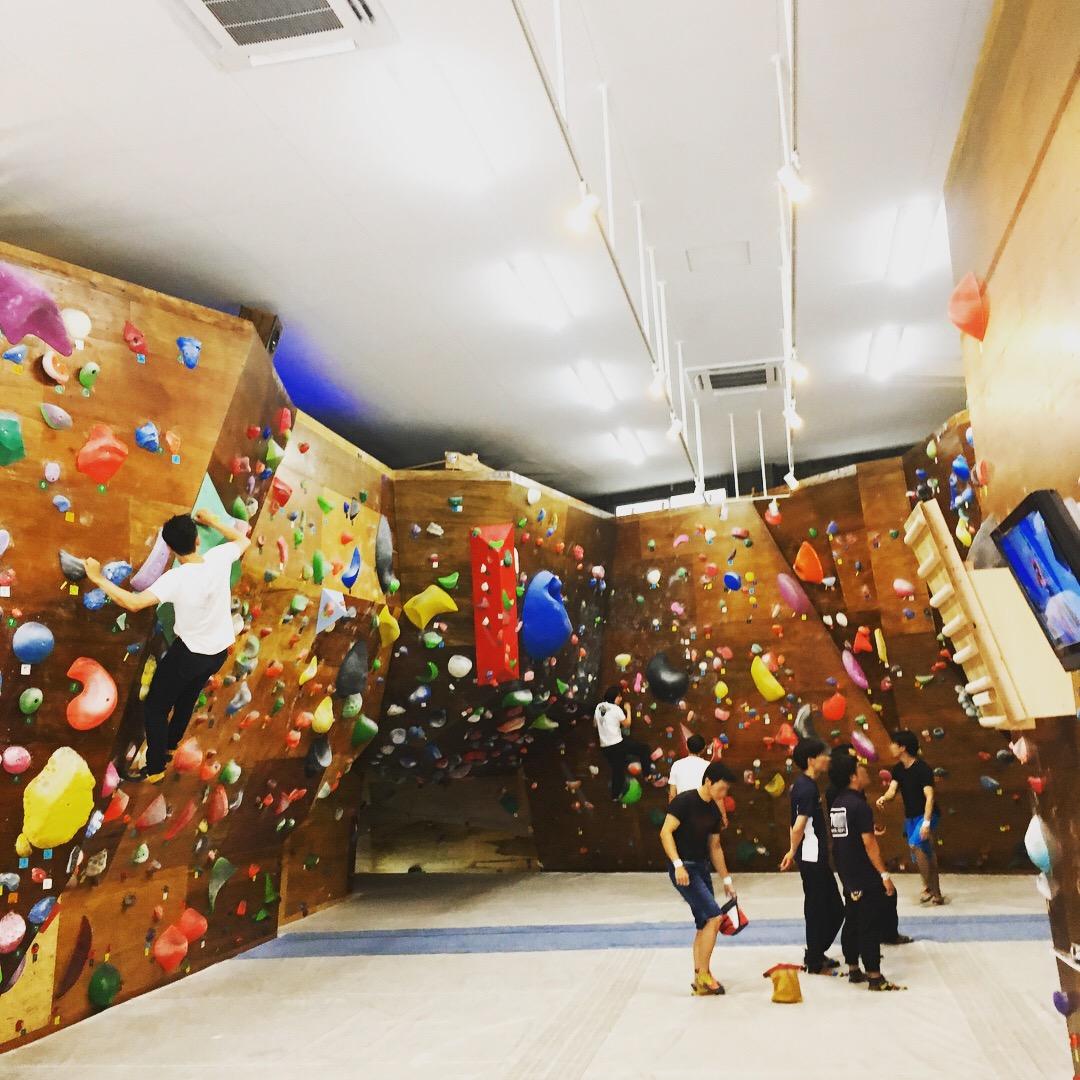 Cronico indoor climbing facilityの写真