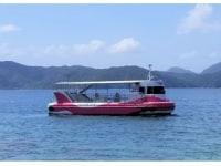 半潜水式水中観光船