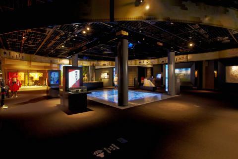 桜の馬場城彩苑歴史文化体験施設 湧々座