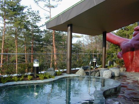 グリーンパーク想い出の森くつき温泉
