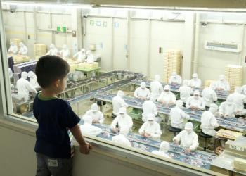 桔梗信玄餅工場テーマパーク