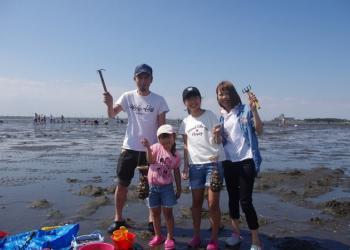 江川海岸潮干狩り場