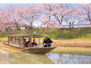 大聖寺川流し舟