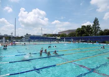 加須市民運動公園 親子プール
