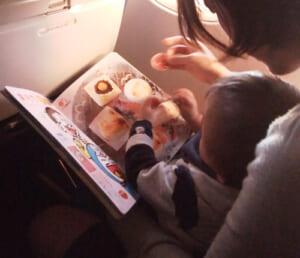 1歳3ヶ月の赤ちゃんと飛行機に乗った時の体験談・過ごし方