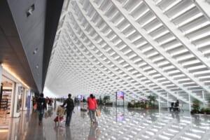 桃園空港で入出国時、制限エリア内のターミナル1-2間を移動する方法