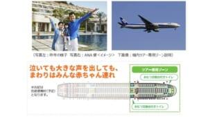 【泣いても大丈夫】赤ちゃん歓迎の沖縄旅行をANAが販売!「赤ちゃんごきげん沖縄の旅3日間」