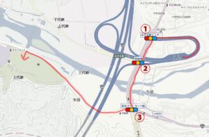 東京サマーランドの道が渋滞する原因はコレ! 朝一の渋滞回避ルート