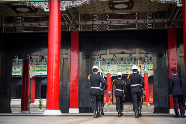 衛兵交代式 台湾