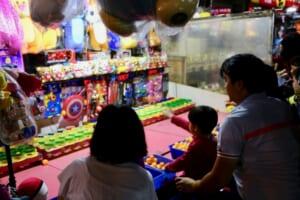 台北で子供と一緒に夜市