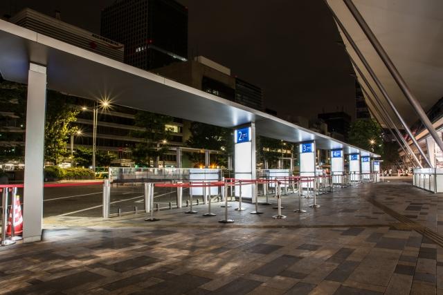 東京駅バス乗り場 八重洲