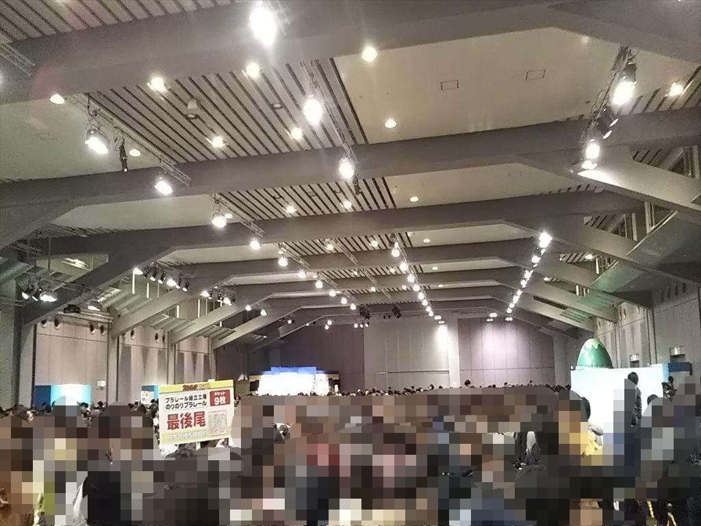 プラレール博in大阪:中の混雑