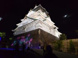 リニューアルされた大阪城サクヤルミナ…思ったほどの混雑では無かった