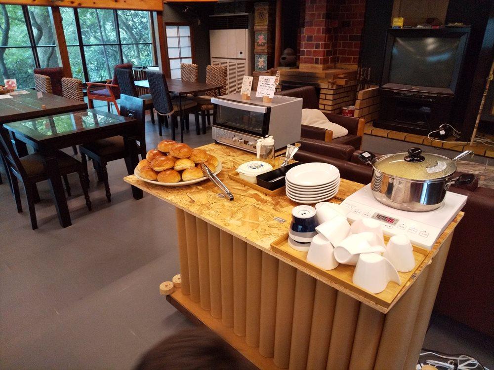 ゲストハウス菊水:朝食