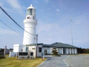 静岡県の御前崎灯台へ…綺麗な設備だけど人は少ない
