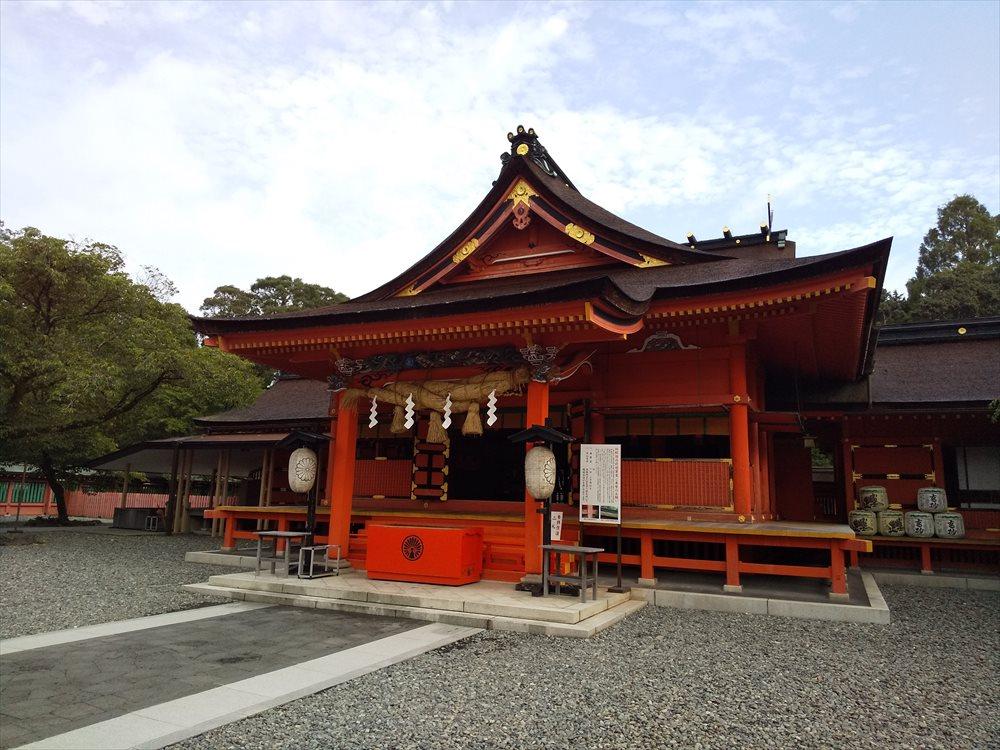富士山本宮浅間神社1