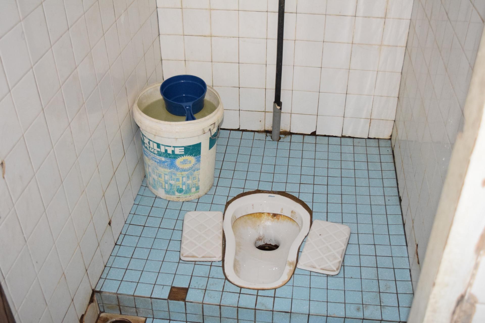アジアのトイレ
