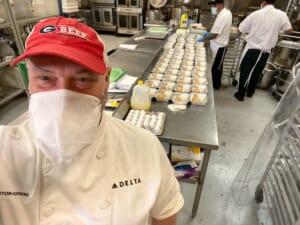 デルタ航空が余った食品・飲料を日本各地のフードバンクに寄付
